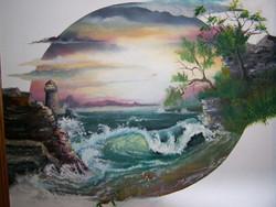 Seacape  -  oil  18 x 24
