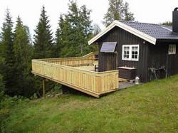 Veranda hytte