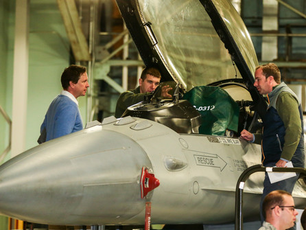 Member Meeting and Base Tour at Vermont Air National Guard
