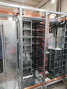 Fronte quadro elettrico Motor Control Center