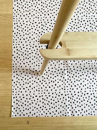 Dusky Dalmatian Splash Mat