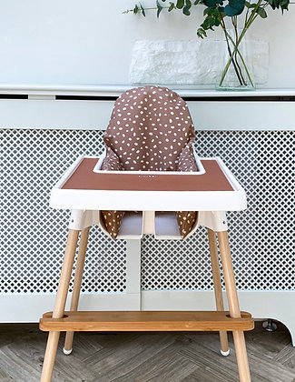 Fawn cushion cover wipeable Ikea highchair