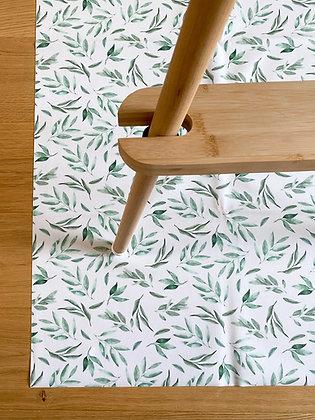 Sage Leaf Splash Mat