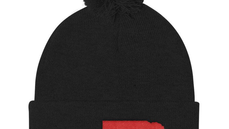 run nebraska stocking hat