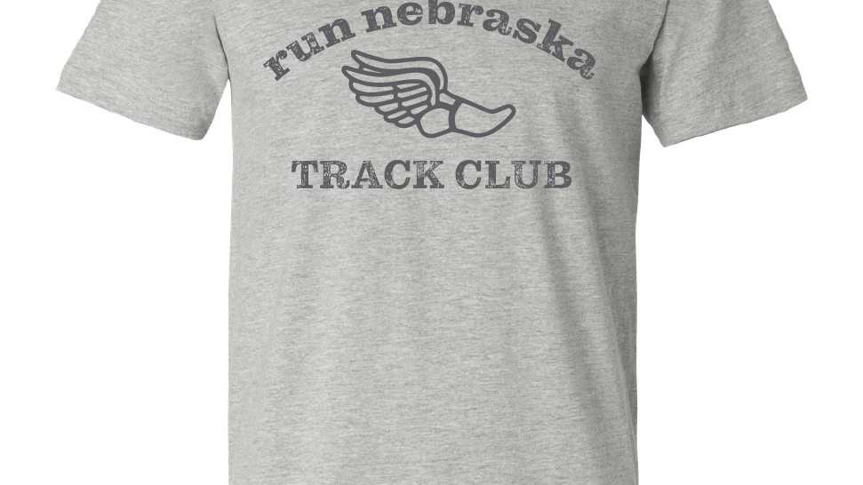 run nebraska track club tee