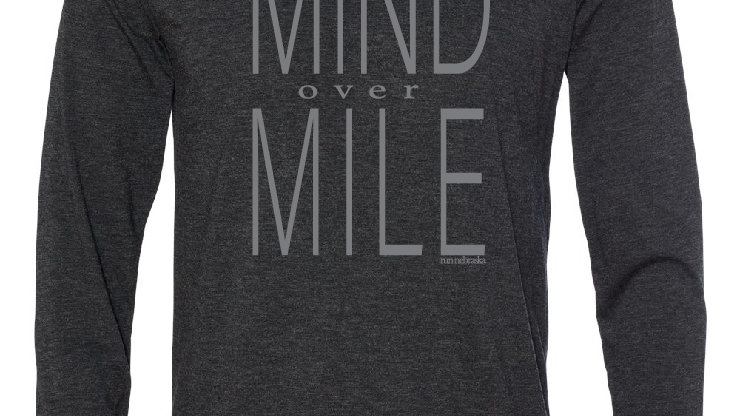 mind over mile long sleeve