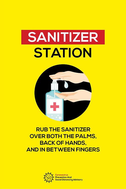 Sanitiser Station