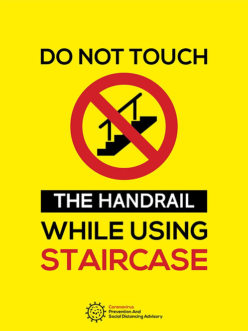Do no touch the Hand Rail