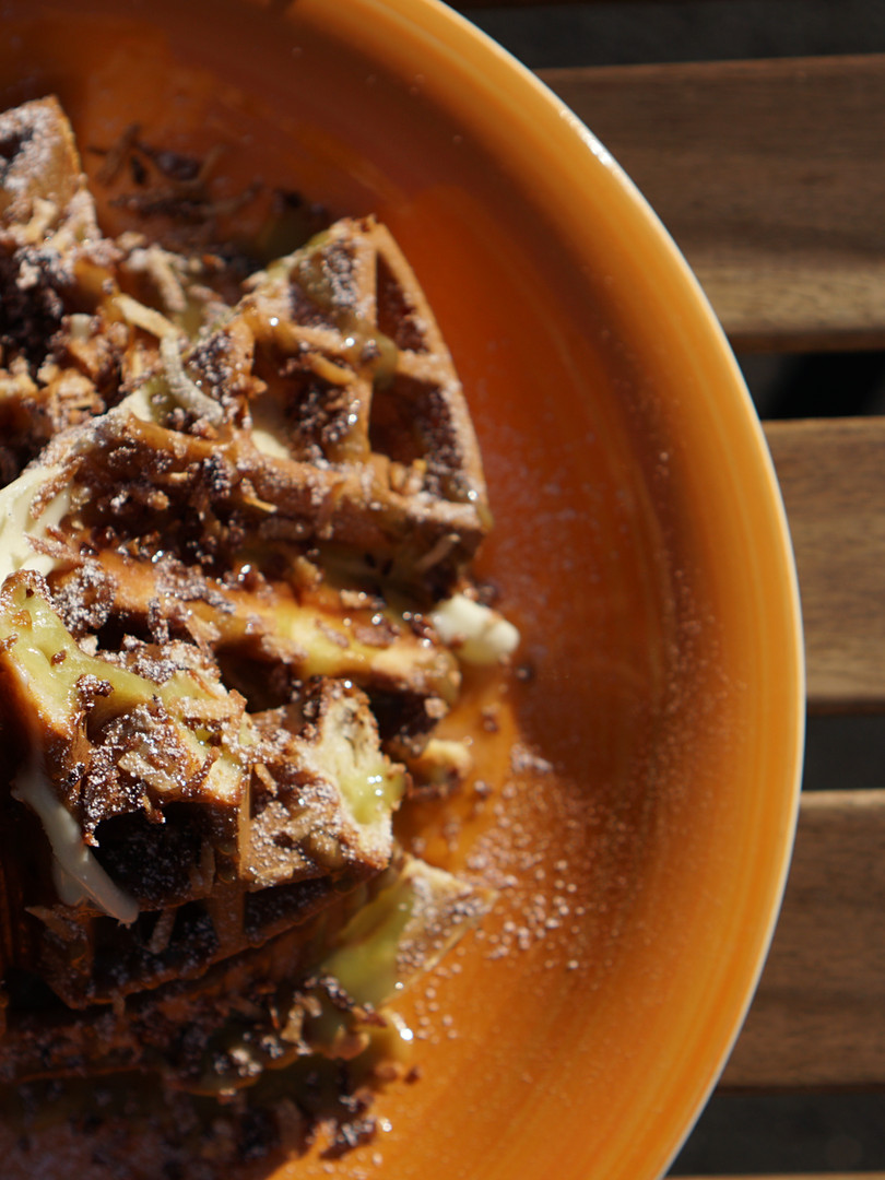 Kaya Butter Waffle