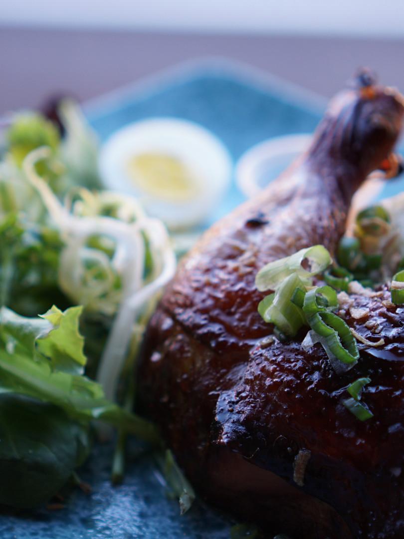Roasted Hainan Chicken Rice