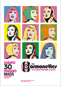Poster The Hormonettes