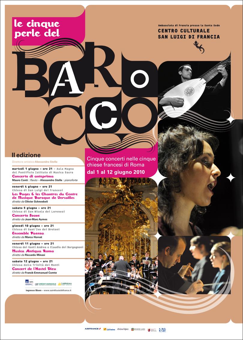 Poster Le Cinque perle del barocco