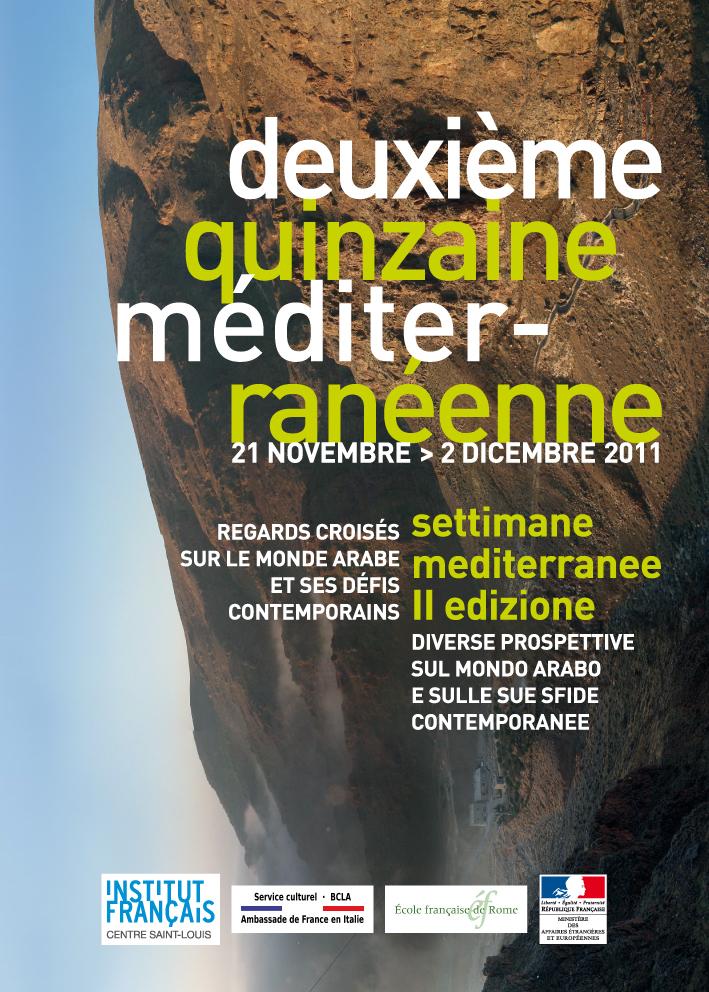 Leaflet Quinzaine méditerranéene