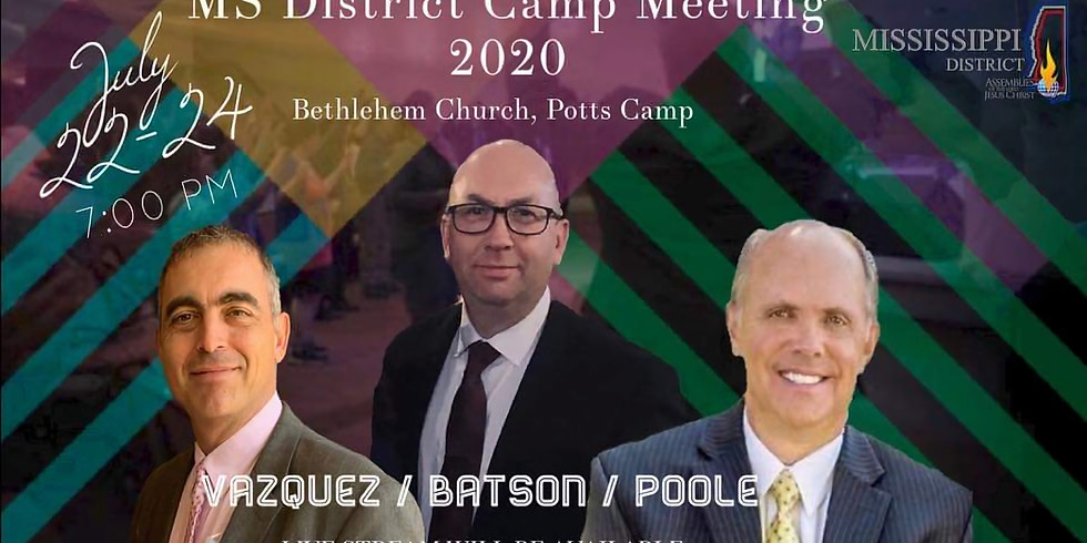 Mississippi District Camp Meeting