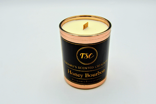 Honey Bourbon candle Scent