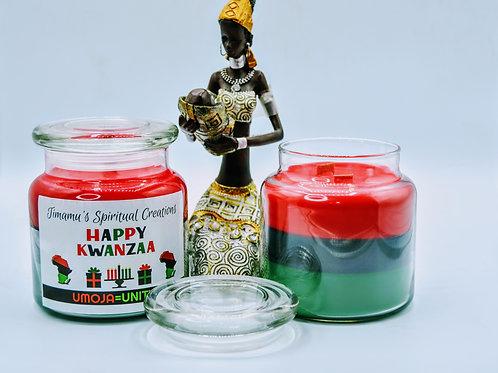 Kwanza - UMOJA - Candle