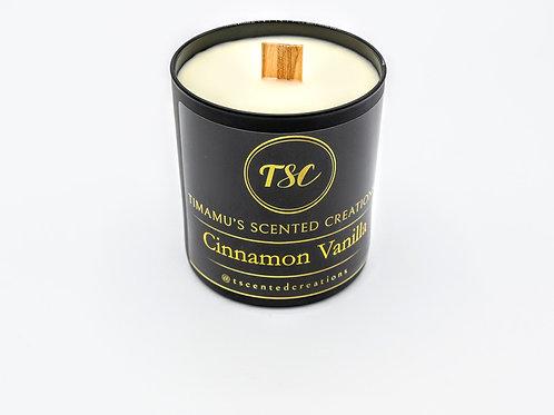 Cinnamon + Vanilla candle Scent