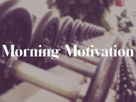 Morning Motivation to Wake up & Workout