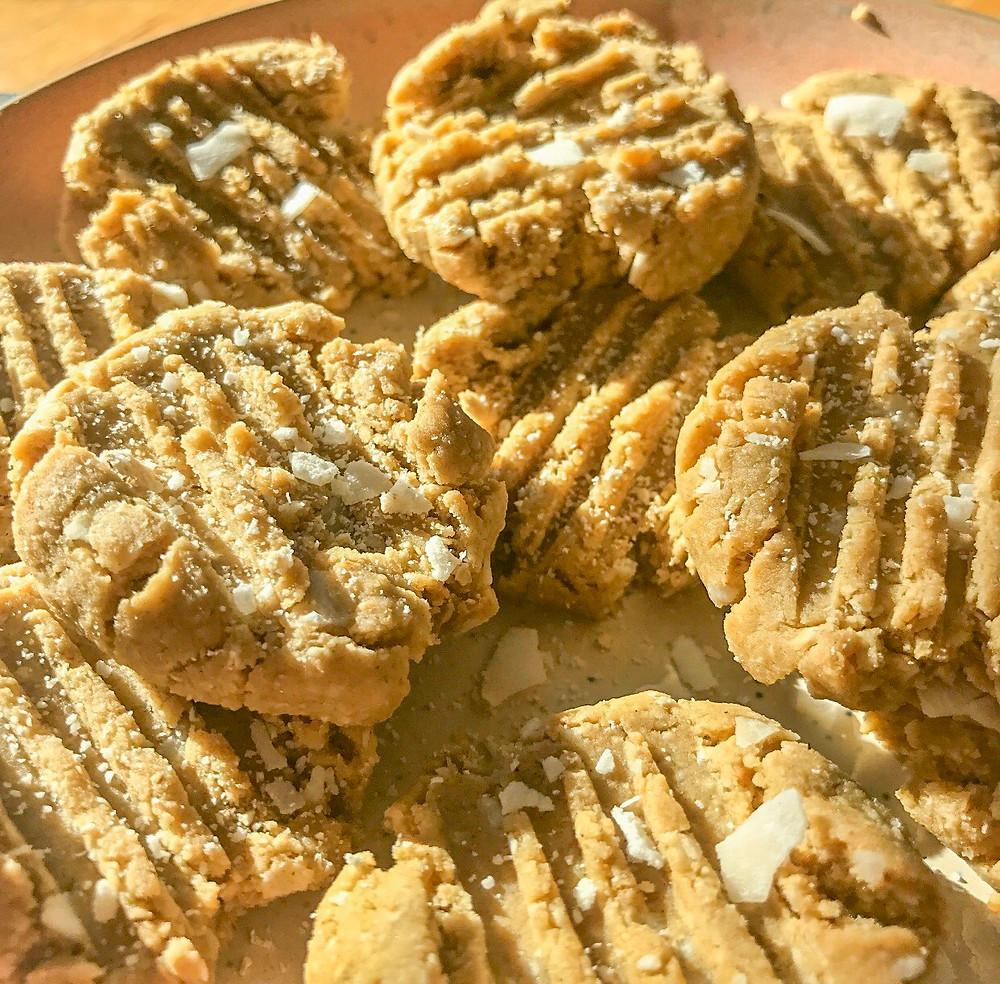 healthy cashew butter cookies