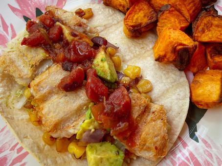 Healthy Gluten-Free Fish Tacos