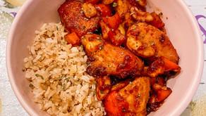 Gluten-Free Sweet & Sour Cashew Chicken Bowls