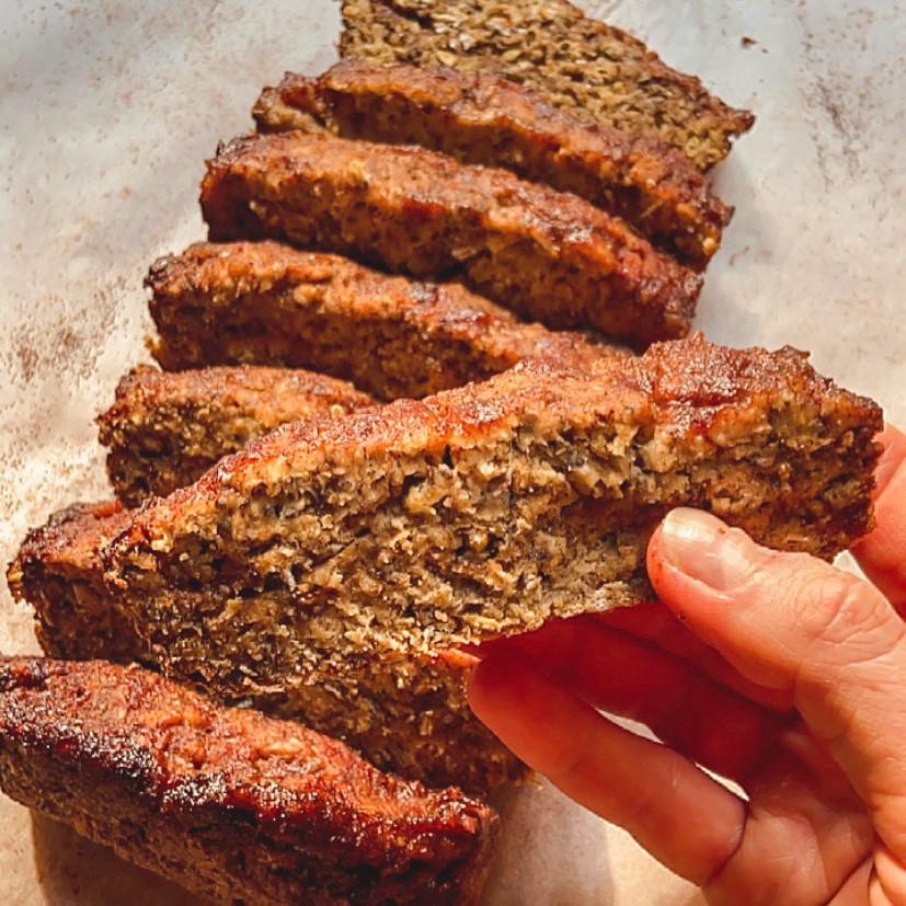 gluten free, vegan snickerdoodle bread