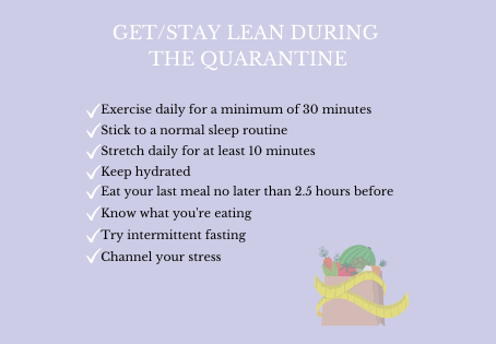 Get Lean During Quarantine