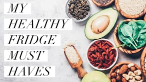 My 6 Healthy Fridge Must Haves
