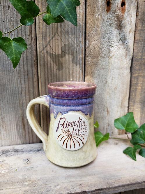 Purple pumpkin mug