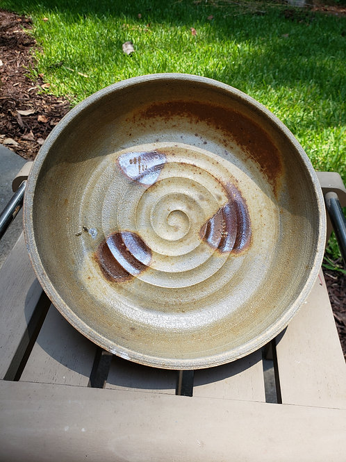 Wood fired dish