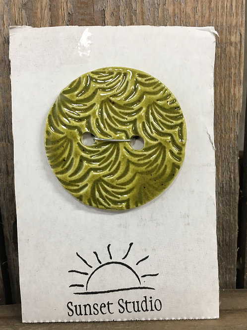 Green leaf Button