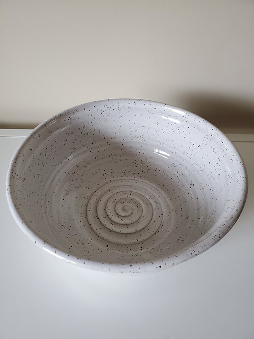 Medium white bowl