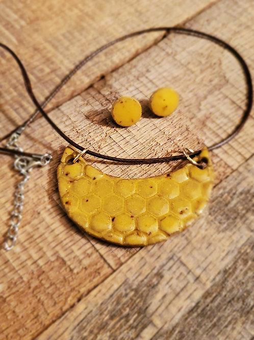 Yellow honey set