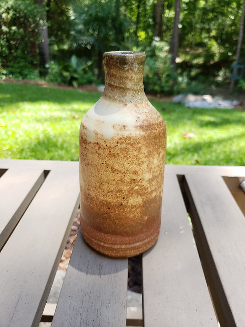Wood fired bud vase