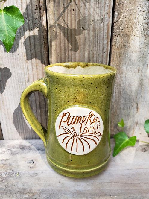 Green spice mug