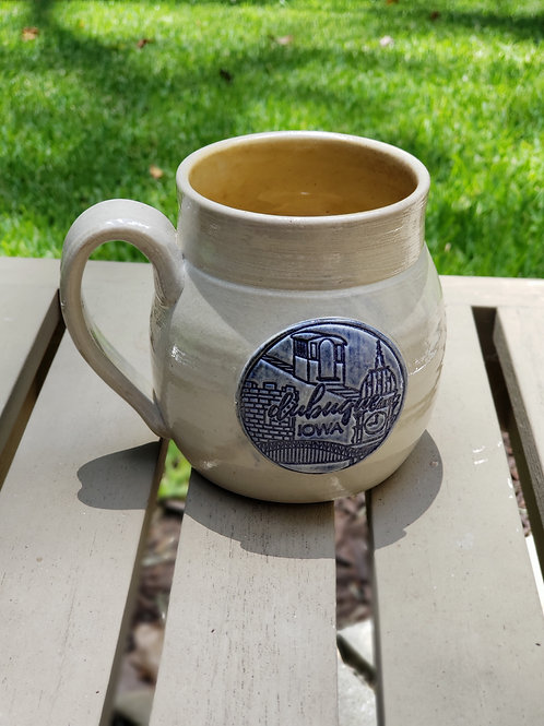 Wood fired Dubuque mug