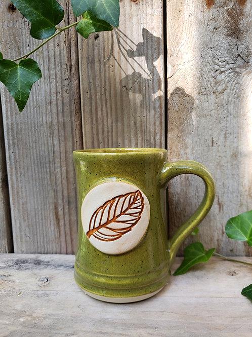 Autumn leaf mug