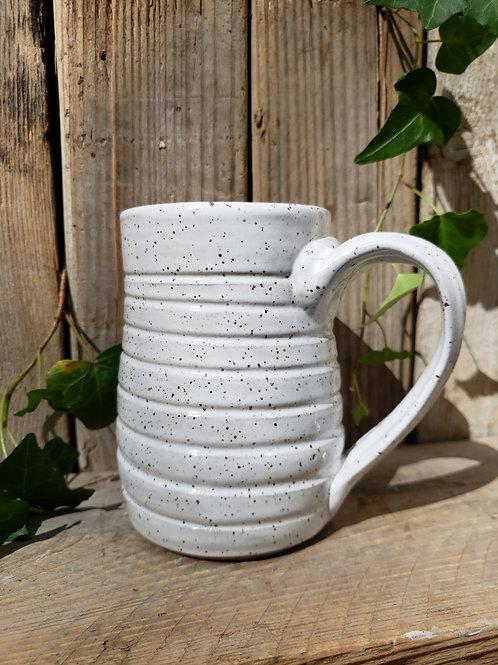 Speckled swirl mug