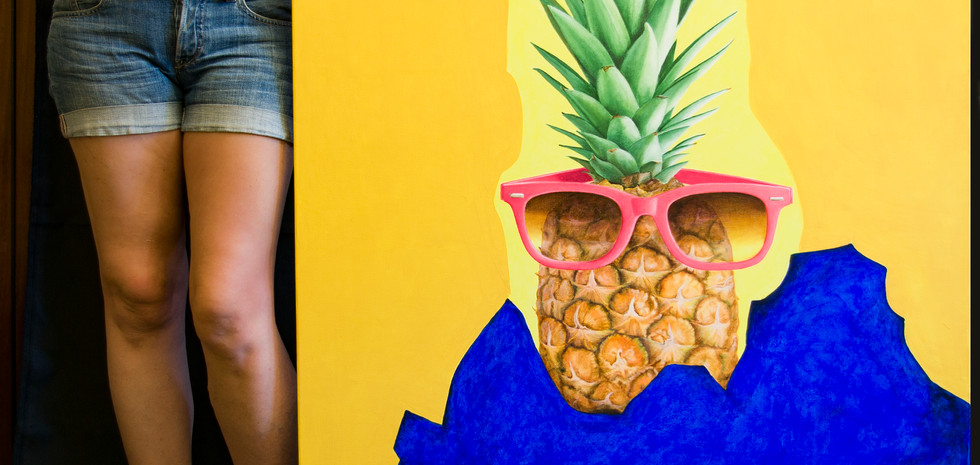 Pineapple and me...
