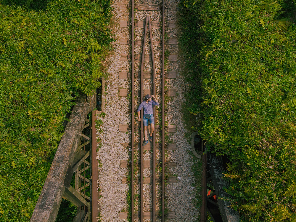 Instagrammable Singapore - Railway Tracks