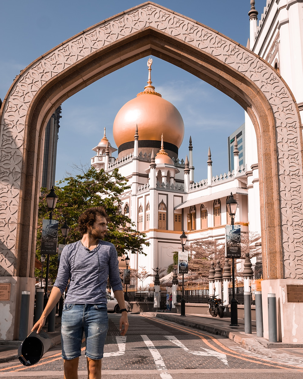 Instagrammable Singapore - Masjid Sultan Mosque