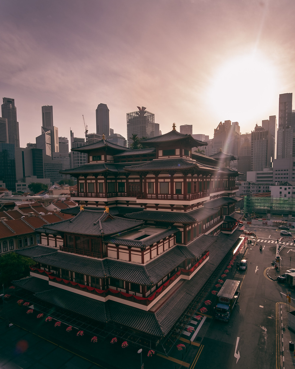 Instagrammable Singapore - Buddha Tooth Relic Temple