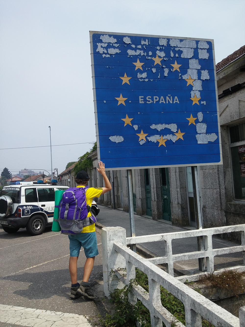 Crossing the border into Spain