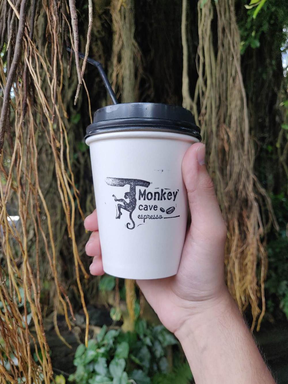 Monkey Cave Espresso - Best cafe in Ubud