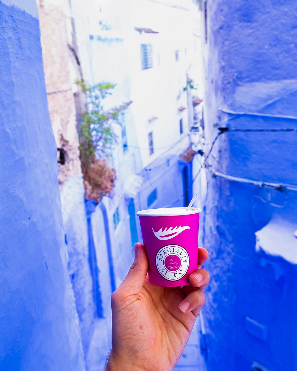 Chefchaouen coffee