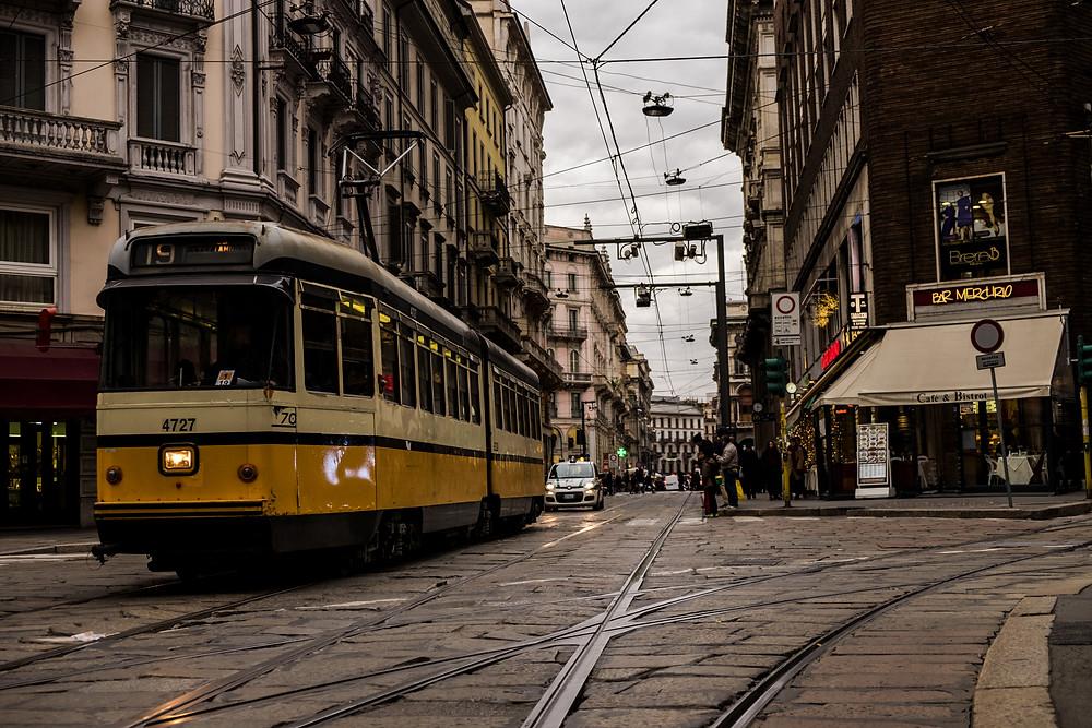 Milanese trams