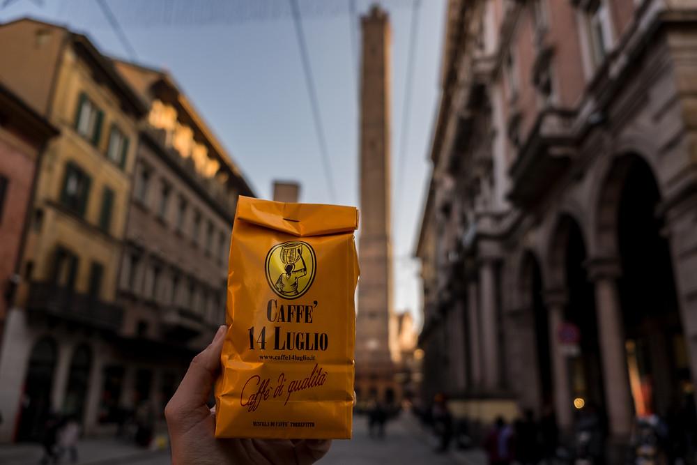 Bologna photography guide: Italian coffee