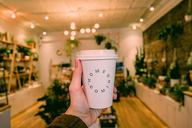 travel blog and lifestyle photo, coffee, nyc, new york