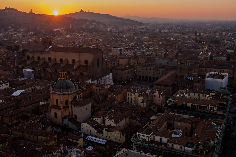 Bologna photography guide: sunset