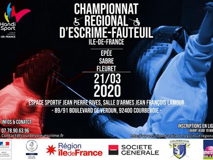 Circulaire d'inscription Championnat Ile de France